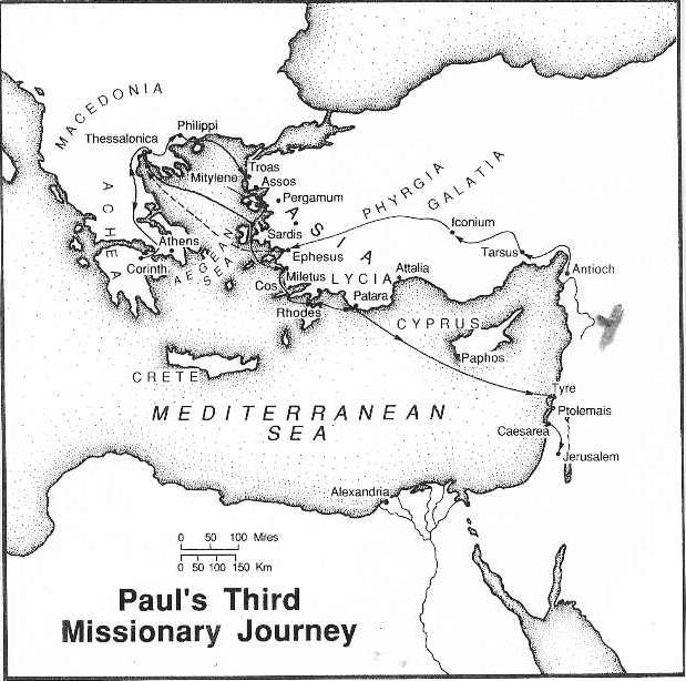 Paul'sThirdMissionaryJourney-ConciseBibleAtlas