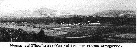 Picture of Valley of Jezreel - Concise Bible Atlas