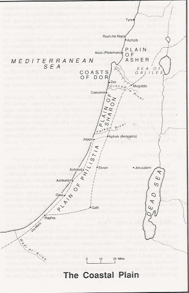 The Coastal Plain - Concise Bible Atlas