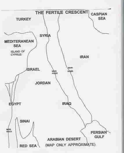 The Fertile Crescent - Concise Bible Atlas
