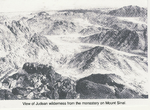 Wilderness of Sinai Today - Concise Bible Atlas